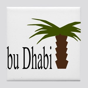 I love Abu Dhabi, amazing city! Tile Coaster
