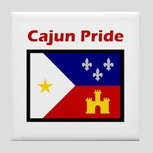 ACADIANA CAJUN PRIDE Tile Coaster