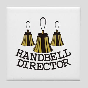 Handbell Director Tile Coaster