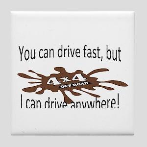 4x4 Drive anywhere! Tile Coaster