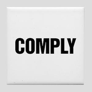 COMPLY Tile Coaster