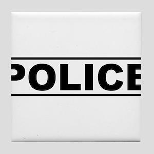 Police Tile Coaster