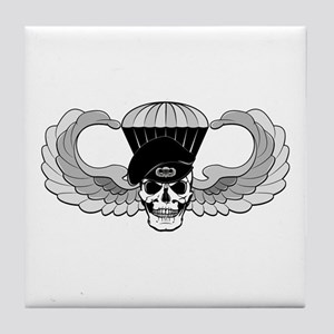 Airborne Jump Wings Tile Coaster