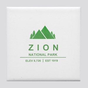 Zion National Park, Utah Tile Coaster