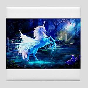 Unicorn Tile Coaster