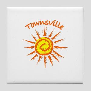 Townsville, Australia Tile Coaster