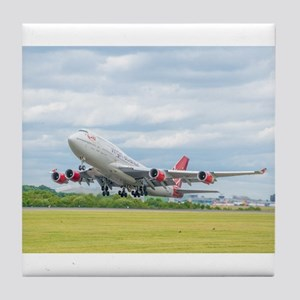 Virgin Atlantic B747 Tile Coaster