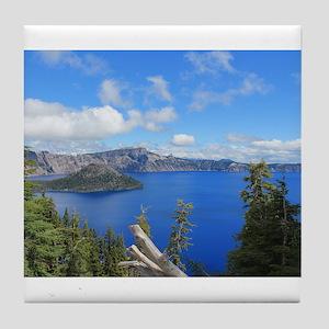 Crater Lake National Park Tile Coaster