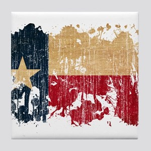 Texas Flag Tile Coaster
