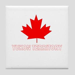 Yukon Territory Tile Coaster