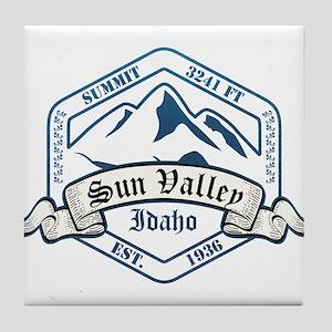 Sun Valley Ski Resort Idaho Tile Coaster