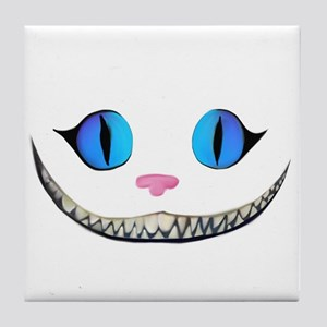 Cheshire Cat Grin Tile Coaster