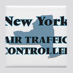 New York Air Traffic Controller Tile Coaster