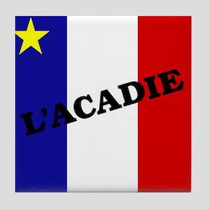 L'Acadie Tile Coaster