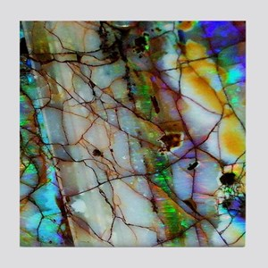 Opalesque Tile Coaster