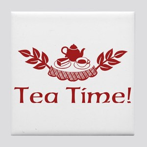 Tea Time Tile Coaster