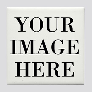 Your Photo Here by Leslie Harlow Tile Coaster