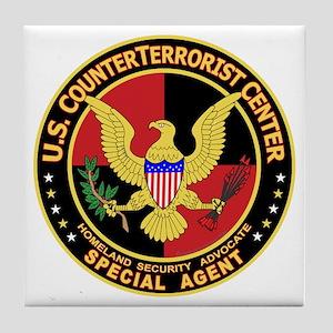 U.S. Counter Terrorist Center Tile Coaster