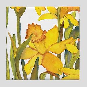 Daffodil detail Coaster