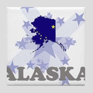 All Star Alaska Tile Coaster