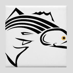 Striper Graphic Tile Coaster