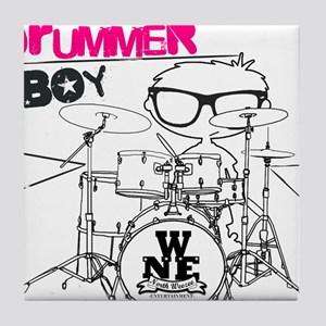 Drummer Boy Tile Coaster
