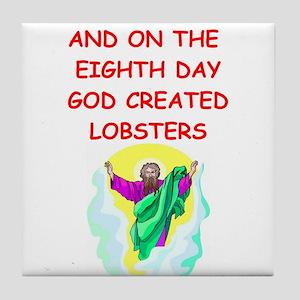 lobsters Tile Coaster