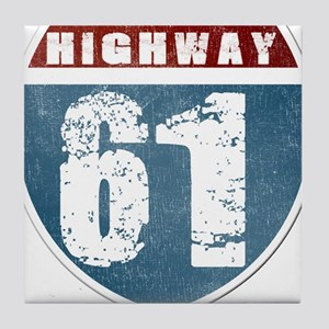 Highway 61 Tile Coaster
