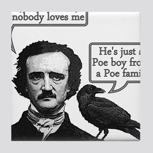 Poe Boy II Tile Coaster