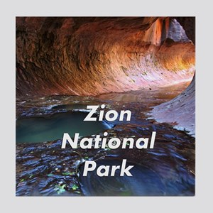 Zion National Park Tile Coaster