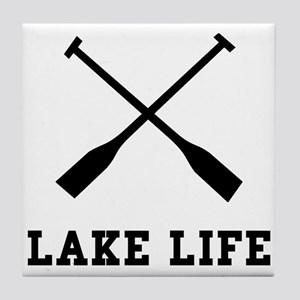 Lake Life Tile Coaster
