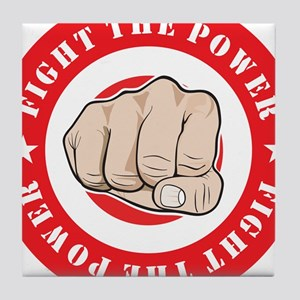 Fight The Power Tile Coaster