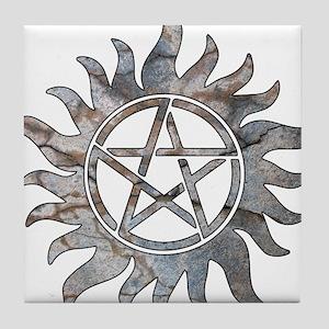 Supernatural Symbol Tile Coaster