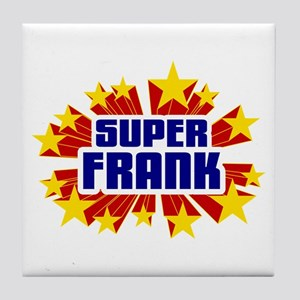 Frank the Super Hero Tile Coaster