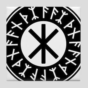 Odin's Protection No.1_2c Tile Coaster