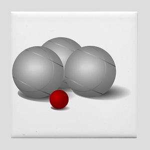Bocce Ball Tile Coaster