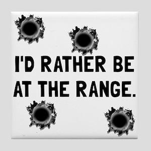 Gun Range Tile Coaster