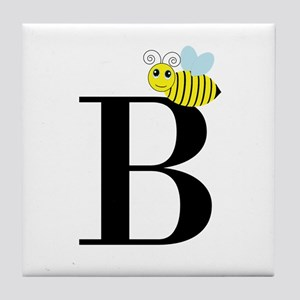 B is for Bee Tile Coaster