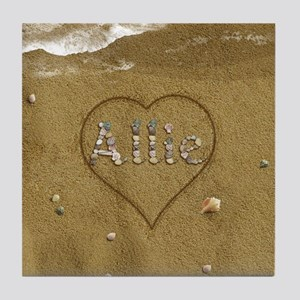 Allie Beach Love Tile Coaster