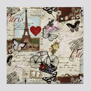 Paris Memories Tile Coaster