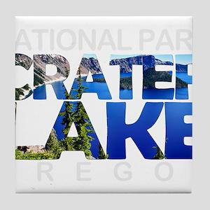 Crater Lake - Oregon Tile Coaster