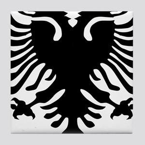 albanian_eagle Tile Coaster