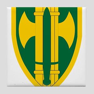 18th MP Brigade Tile Coaster