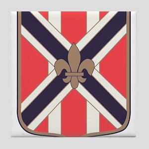111th Army Field Artillery Battalion. Tile Coaster