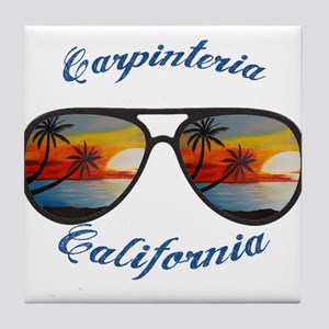 California - Carpinteria Tile Coaster