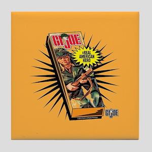 GI Joe American Hero Tile Coaster