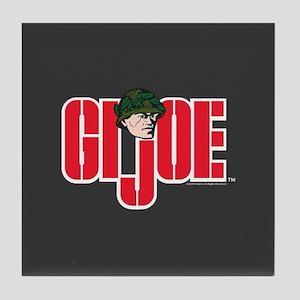 GI Joe Logo Tile Coaster