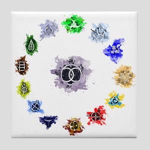 The 13 Clan Coalition Tile Coaster