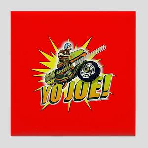 G.I. Joe YO Joe Tile Coaster