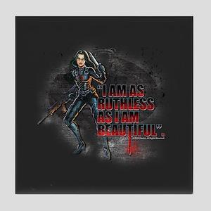 G.I. Joe Baroness Tile Coaster